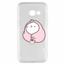 Чехол для Samsung A3 2017 The Hare in the blanket