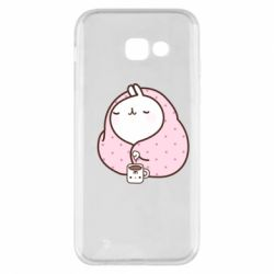 Чехол для Samsung A5 2017 The Hare in the blanket