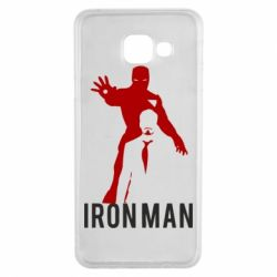 Чехол для Samsung A3 2016 The Invincible Iron Man