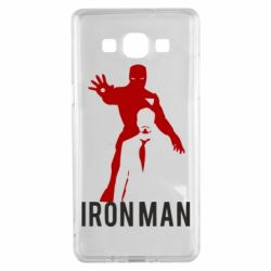 Чехол для Samsung A5 2015 The Invincible Iron Man