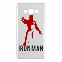 Чехол для Samsung A7 2015 The Invincible Iron Man