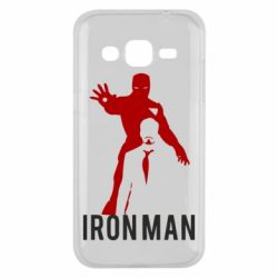 Чехол для Samsung J2 2015 The Invincible Iron Man