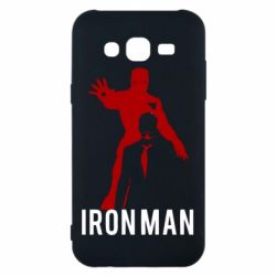 Чехол для Samsung J5 2015 The Invincible Iron Man