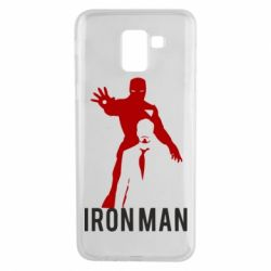Чехол для Samsung J6 The Invincible Iron Man