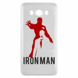 Чехол для Samsung J7 2016 The Invincible Iron Man
