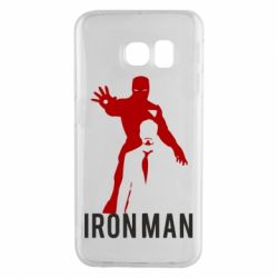 Чехол для Samsung S6 EDGE The Invincible Iron Man