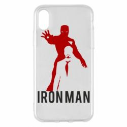 Чехол для iPhone X/Xs The Invincible Iron Man
