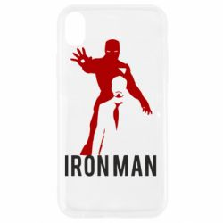 Чехол для iPhone XR The Invincible Iron Man