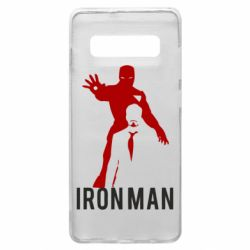 Чехол для Samsung S10+ The Invincible Iron Man