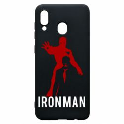 Чехол для Samsung A20 The Invincible Iron Man