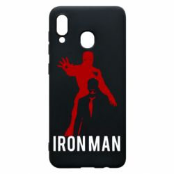 Чехол для Samsung A30 The Invincible Iron Man