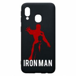 Чехол для Samsung A40 The Invincible Iron Man
