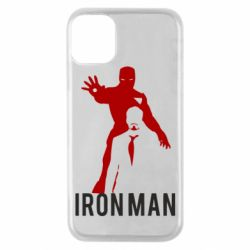 Чехол для iPhone 11 Pro The Invincible Iron Man