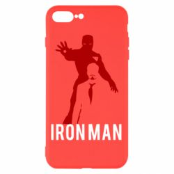 Чехол для iPhone 8 Plus The Invincible Iron Man