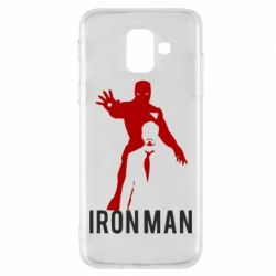 Чехол для Samsung A6 2018 The Invincible Iron Man