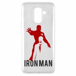 Чехол для Samsung A6+ 2018 The Invincible Iron Man