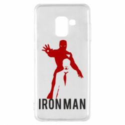 Чехол для Samsung A8 2018 The Invincible Iron Man