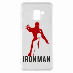 Чехол для Samsung A8+ 2018 The Invincible Iron Man