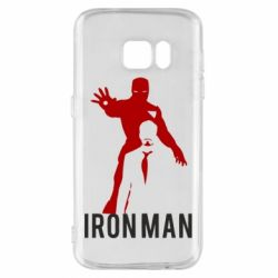 Чехол для Samsung S7 The Invincible Iron Man