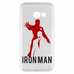 Чехол для Samsung A3 2017 The Invincible Iron Man