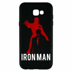 Чехол для Samsung A7 2017 The Invincible Iron Man