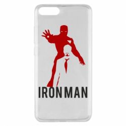 Чехол для Xiaomi Mi Note 3 The Invincible Iron Man