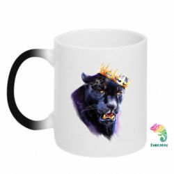 Кружка-хамелеон The King of Panthers