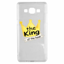Чохол для Samsung A5 2015 The king of the house