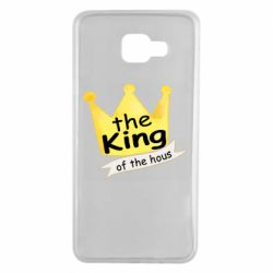 Чохол для Samsung A7 2016 The king of the house