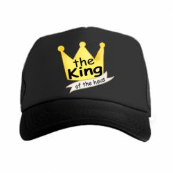 Кепка-тракер The king of the house