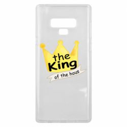 Чохол для Samsung Note 9 The king of the house
