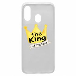 Чохол для Samsung A40 The king of the house