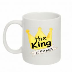 Кружка 320ml The king of the house