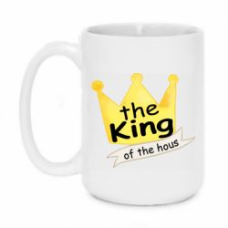 Кружка 420ml The king of the house
