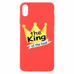 Чохол для iPhone X/Xs The king of the house