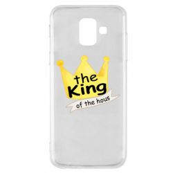 Чохол для Samsung A6 2018 The king of the house