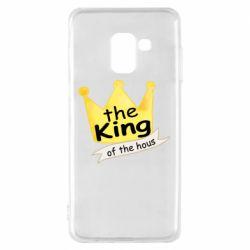 Чохол для Samsung A8 2018 The king of the house