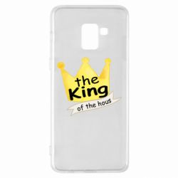 Чохол для Samsung A8+ 2018 The king of the house