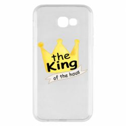 Чохол для Samsung A7 2017 The king of the house
