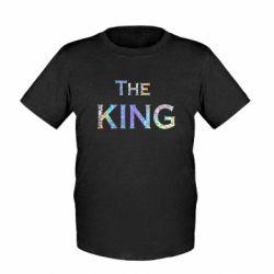 Детская футболка The King