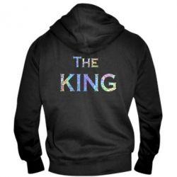 Мужская толстовка на молнии The King