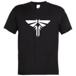 Чоловіча футболка з V-подібним вирізом The Last of Us Fireflies