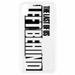 Чохол для iPhone XR The Last of us Left Behind