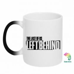 Кружка-хамелеон The Last of us Left Behind