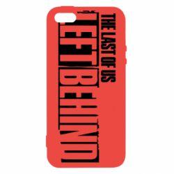 Чохол для iphone 5/5S/SE The Last of us Left Behind