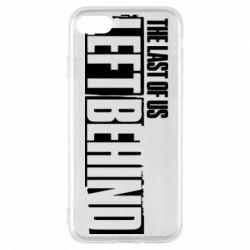 Чохол для iPhone 8 The Last of us Left Behind
