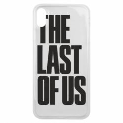 Чохол для iPhone Xs Max The Last of Us