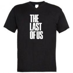 Мужская футболка  с V-образным вырезом The Last of Us