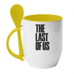Кружка с керамической ложкой The Last of Us