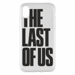 Чохол для iPhone X/Xs The Last of Us